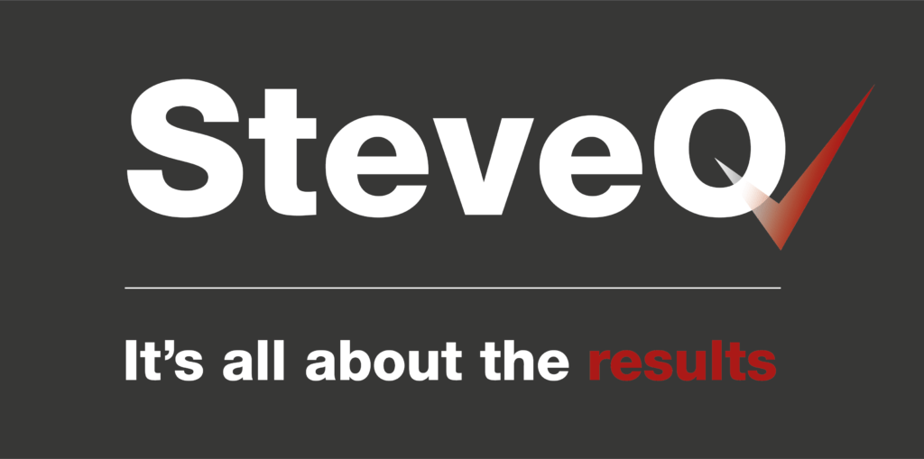 Steve Q Logo - It's all about the results